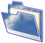 Cloud storage folder