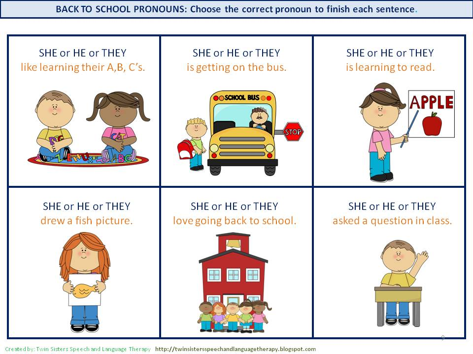 singular and plural pronouns worksheets