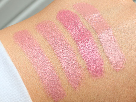 MAC Angel Lipstick Swatches