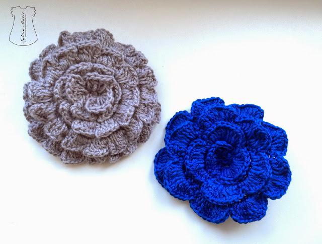 pasadores hechos en crochet,haarspangen gehäkeln