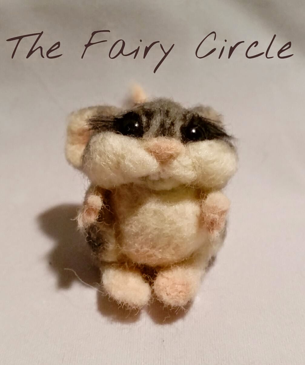 needle felting mouse mice ooak wool felt