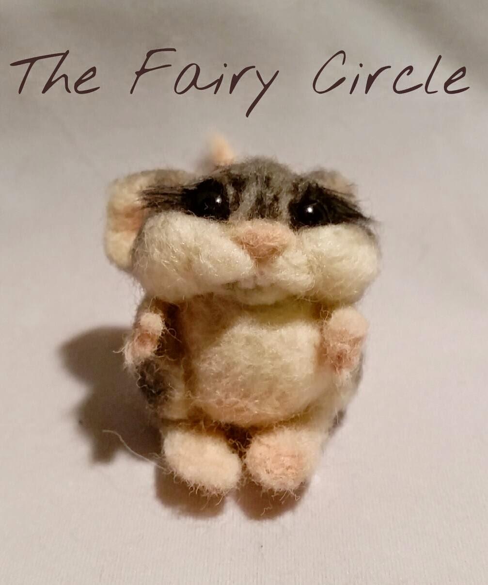 needle felting mouse mice ooak wool felt