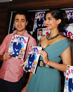 Sonam Kapoor with Imran Khan launching Stardust Magazine Vover Spicy Pictures