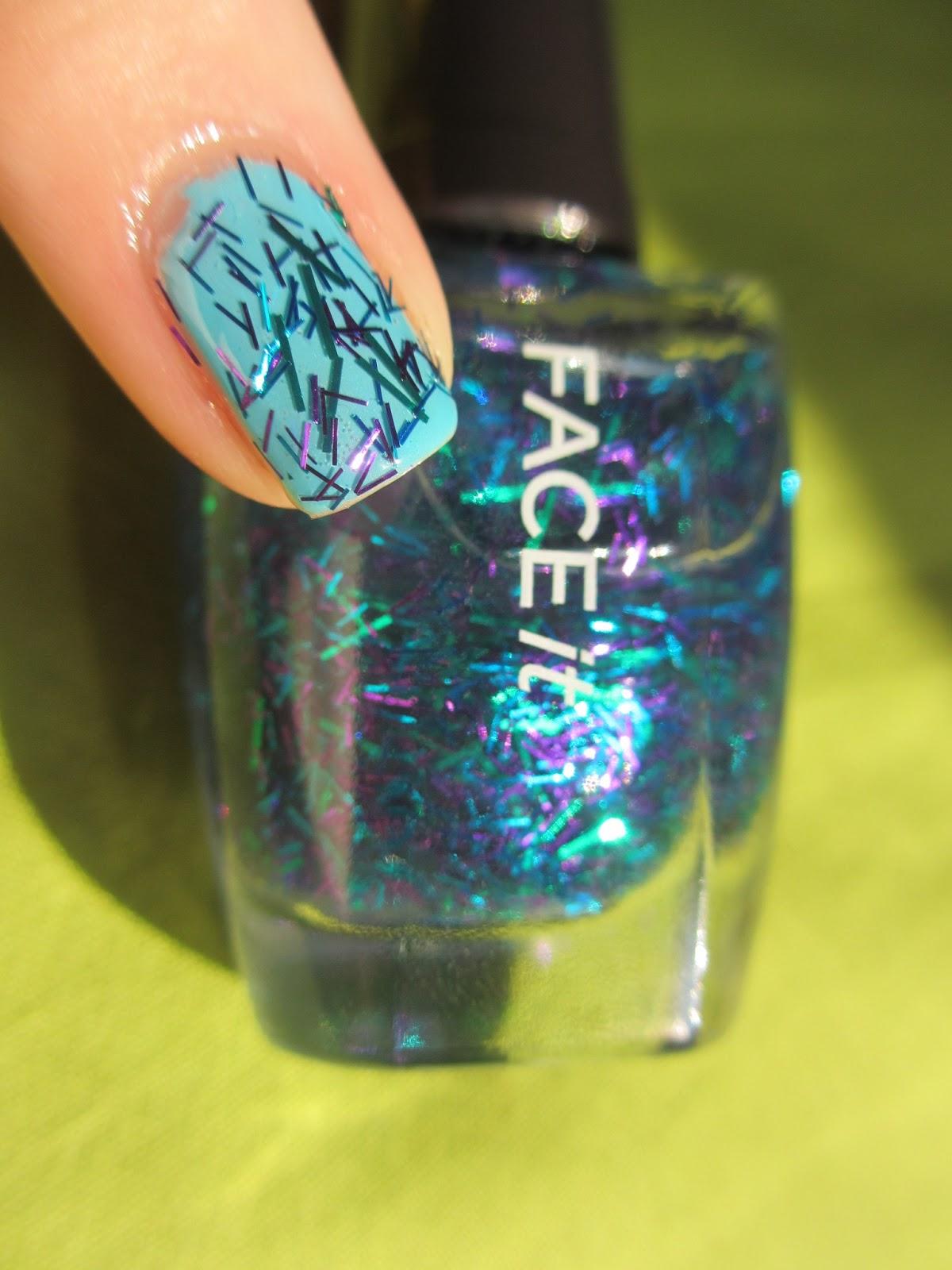 face shop festival nails bl601