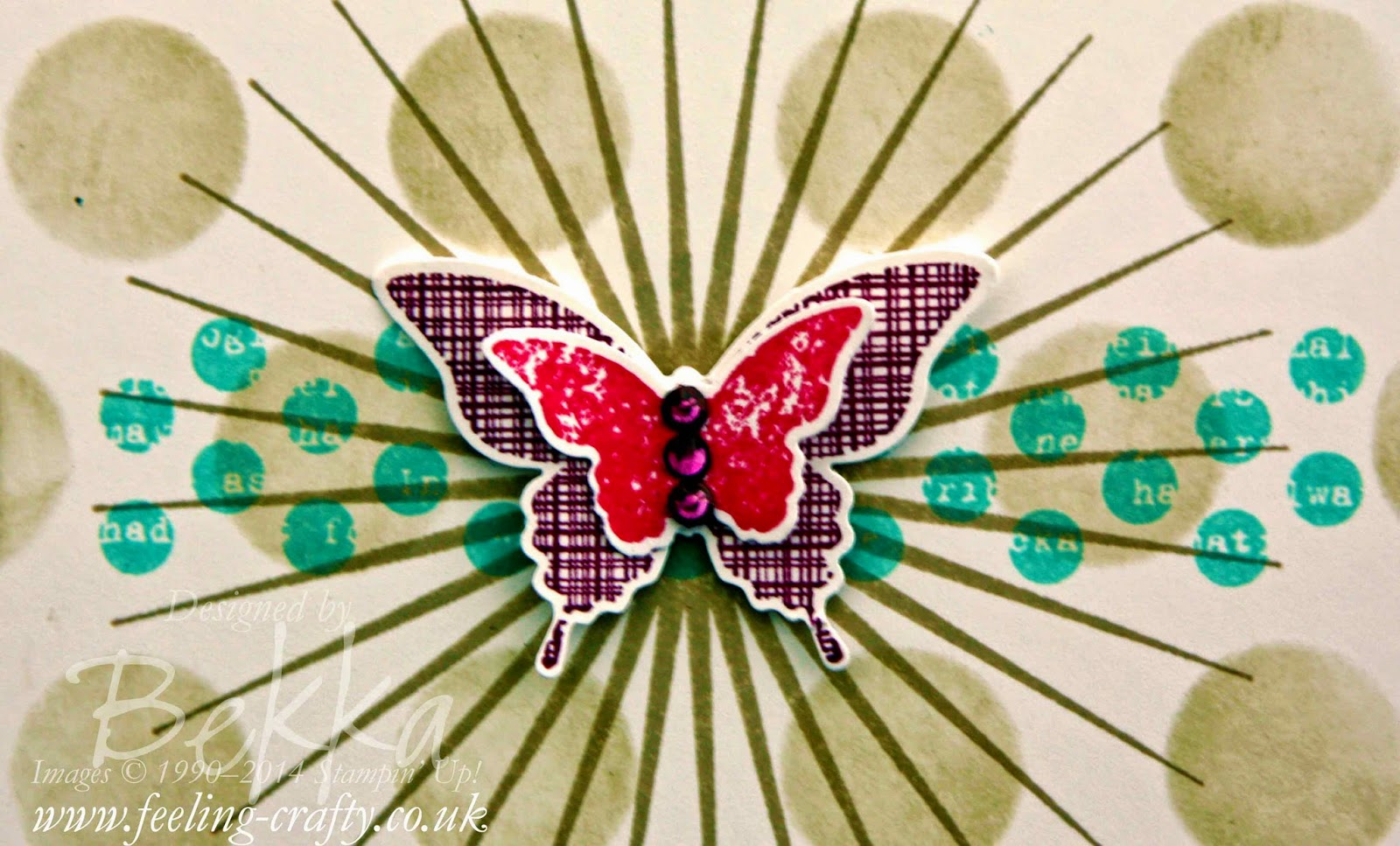 Cards, Chatter and a Cuppa - fun new class with Bekka Stampin' Up! UK Independent Demonstrator