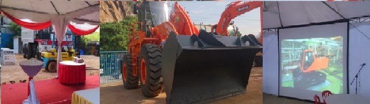 DOOSAN Heavy Machineries Opening Ceremony JAN 2014