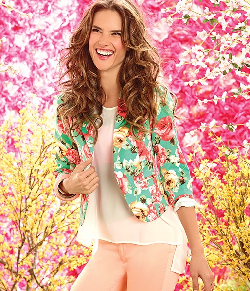 Alessandra ambrosio for arkitect flowers 2013 the angels for Arkitect home