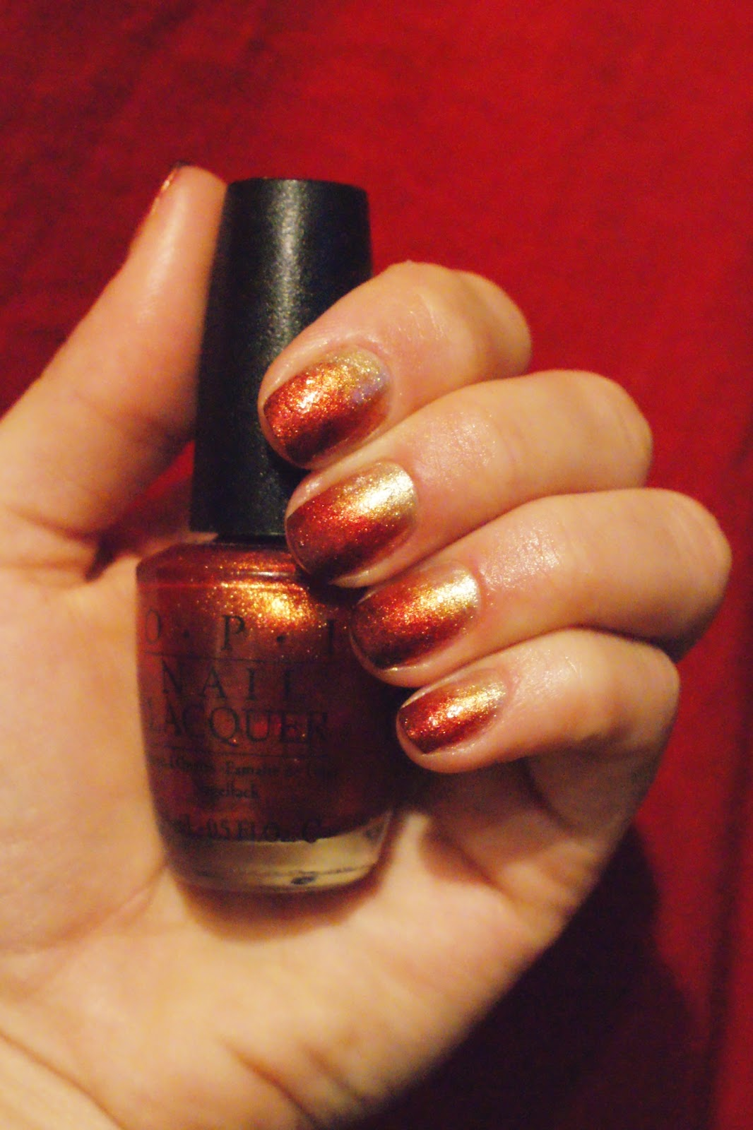 Top Fashion Nails: OPI ombre nails part II