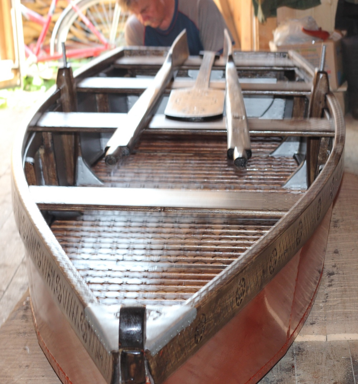 Для строительства самодельной лодки нужно иметь много самых разных инструментов