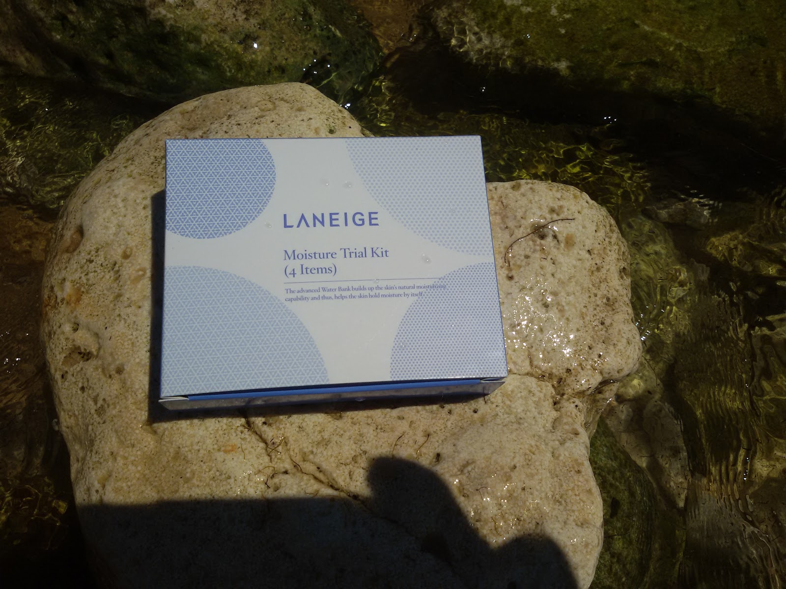 Увлажняющий дорожный наборчик Laneige Moisture Trial Kit (4 items): было сухо - стало мокро