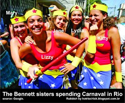 carnaval de rua no rio de janeiro pride and prejudice bennet sisters