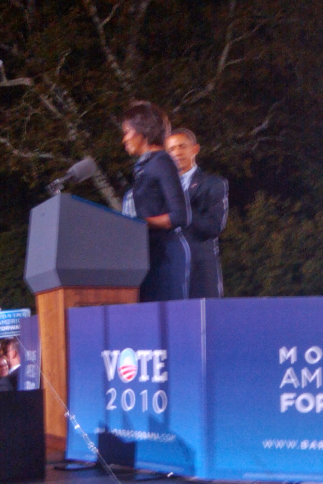 The President and First Lady in Ohio 2010