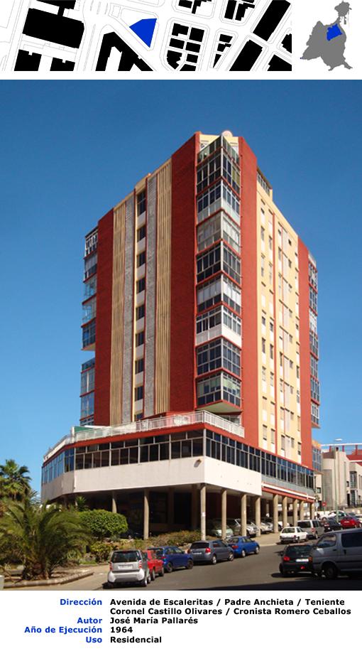 Edificios de las palmas de gran canaria edificio triangular for Arquitectura las palmas