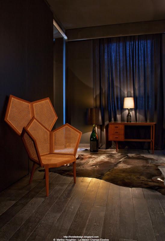 les plus beaux hotels design du monde h tel la maison champs elysees by dani le damon maison. Black Bedroom Furniture Sets. Home Design Ideas