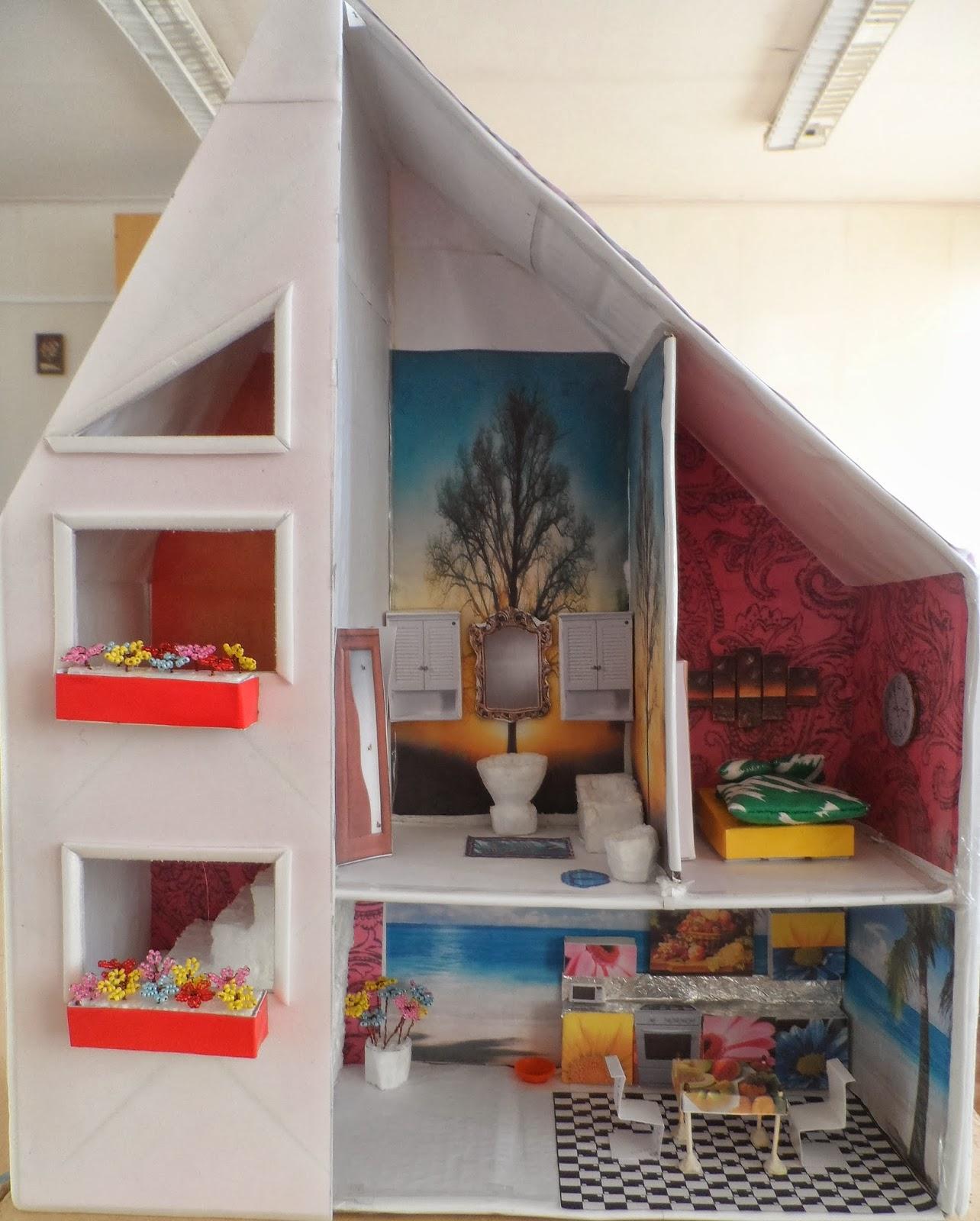 Как сделать макет дома своими руками с фото фото 801