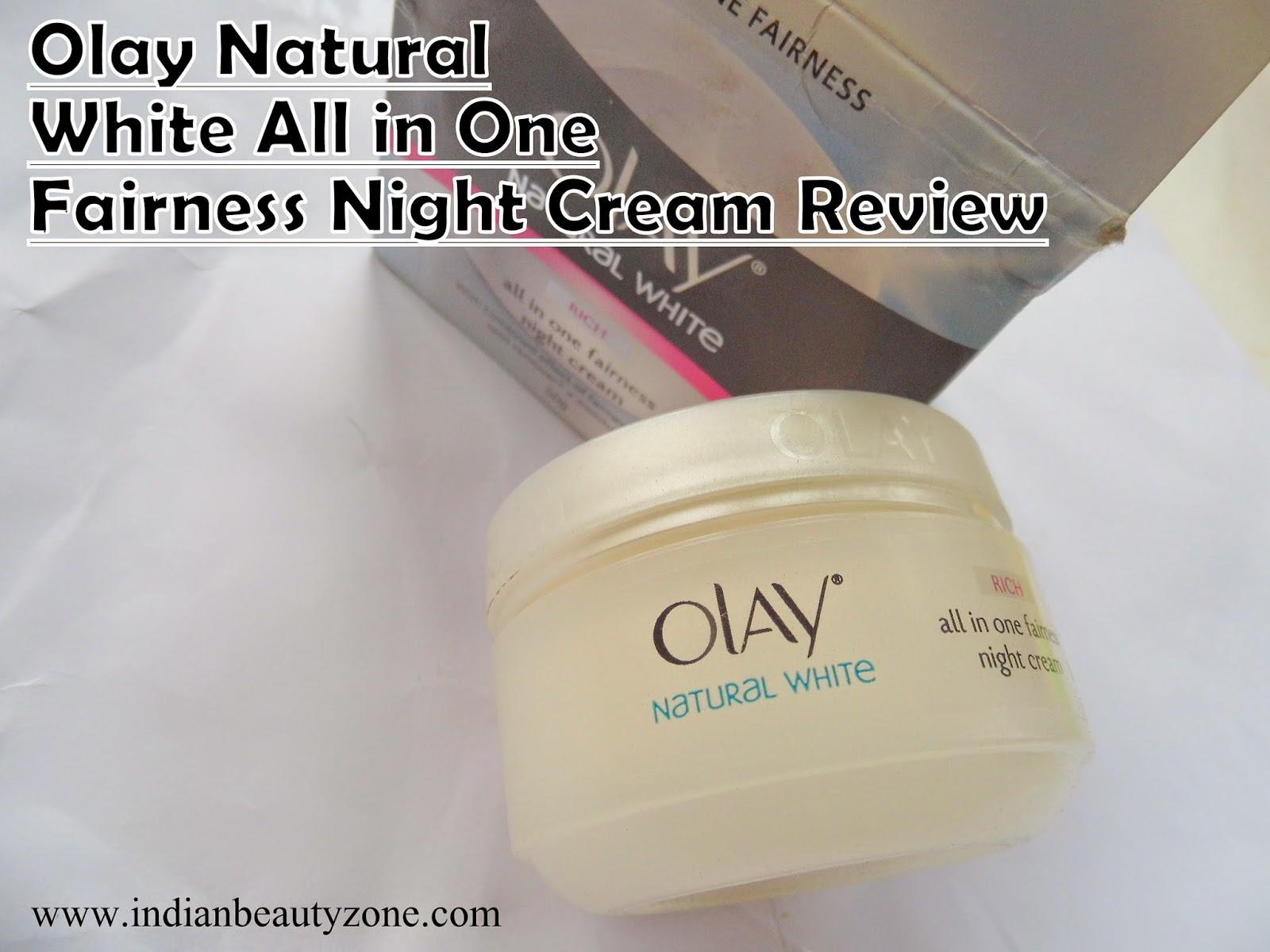 Night creams for winter