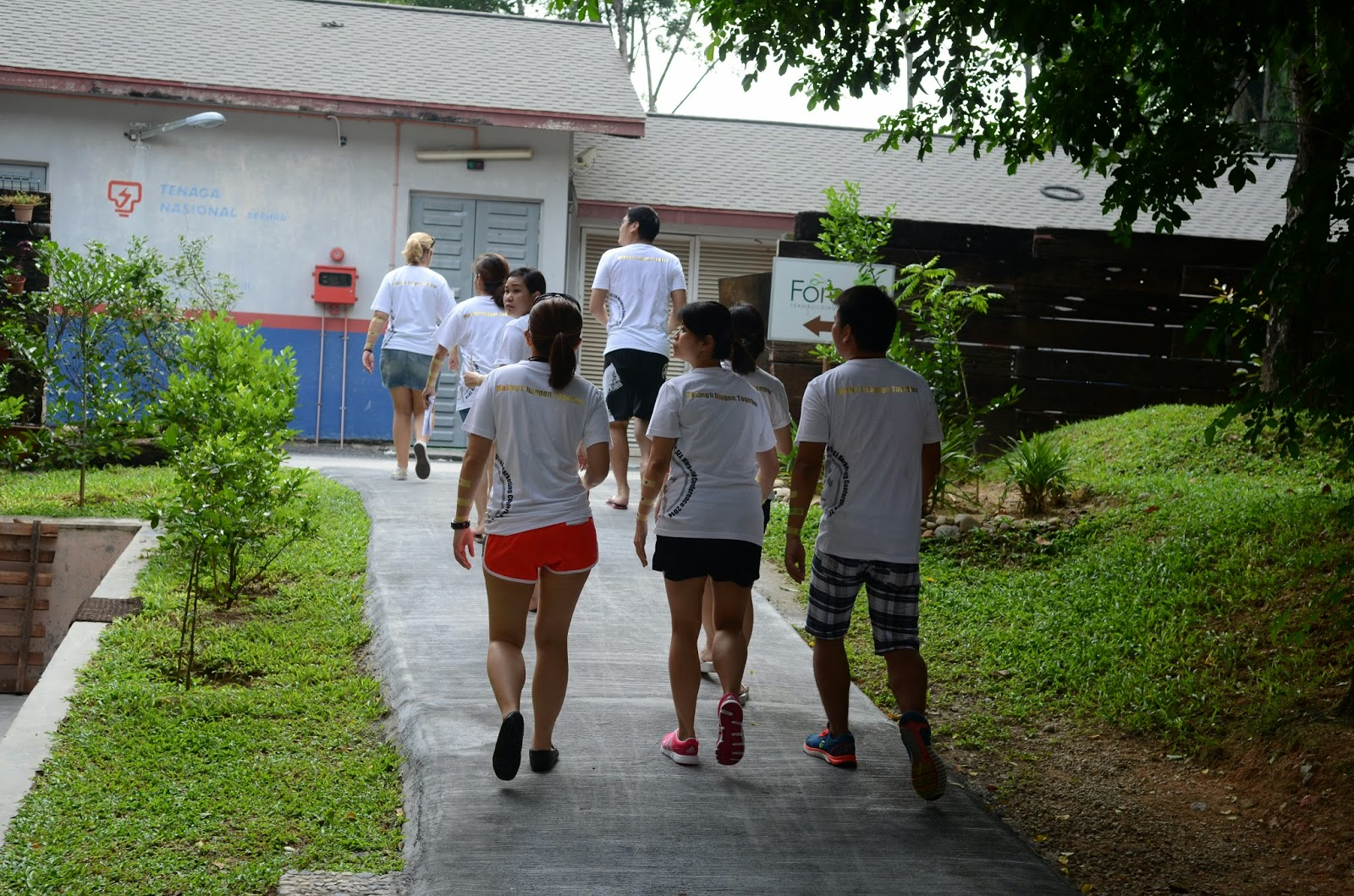 Malacca Adventure Teambuilding - 5 Elements Concept - www.bigtreetours.com