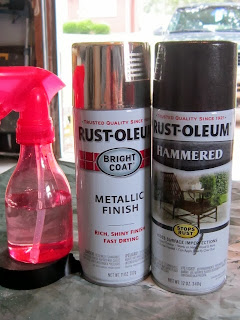 #Rustoleum #SprayPaint #DIY #Makeover #Lamp