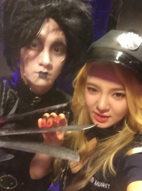 hyoyeon policewoman