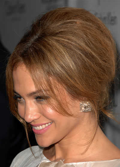 jennifer lopez on the floor hairstyle. simple up do hairstyles. megan
