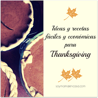 ideas recetas decoraciones thanksgiving
