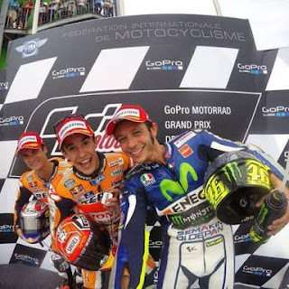 Podium GP jerman 2015