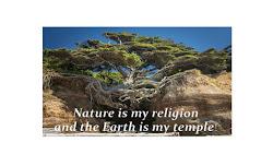 Mãe Natureza é a minha Deusa