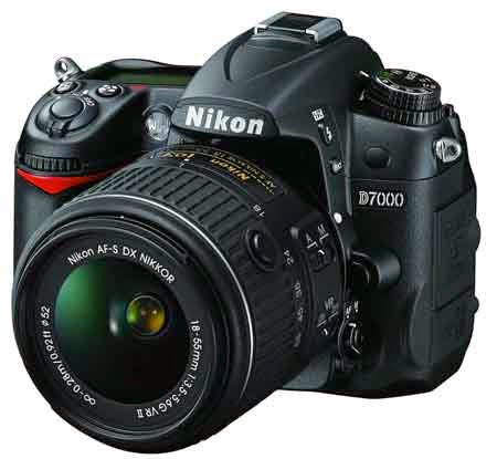 Nikon D7000 16.2 Megapixel Digital SLR Camera with 18-55mm Lens