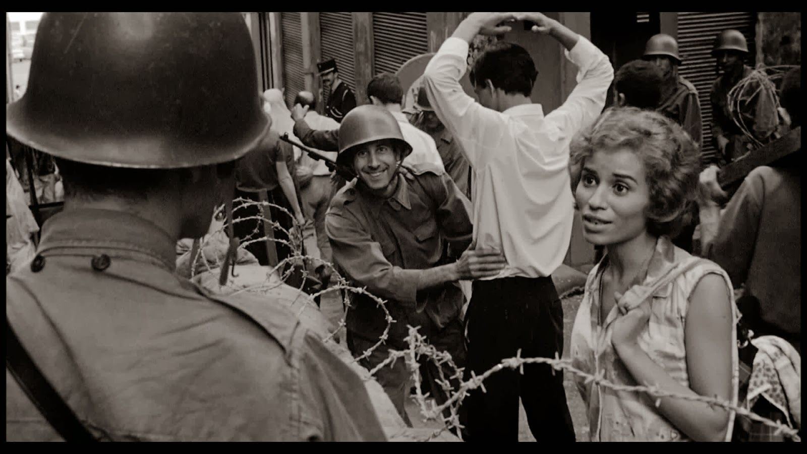 battle of algiers movie essay Order description prompt 3: battle of algiers and return to algiers your assignment is to respond to four of the questions below this is not an essay assignment.