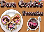 Dora Cookies Decoration