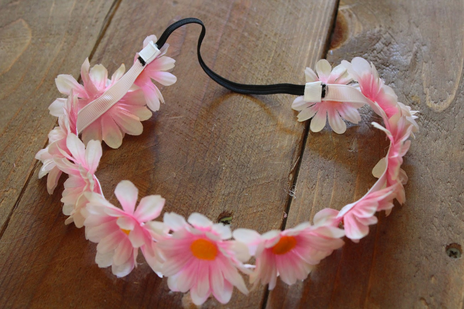 Girls of God s Heart DIY Floral Headband on the cheap