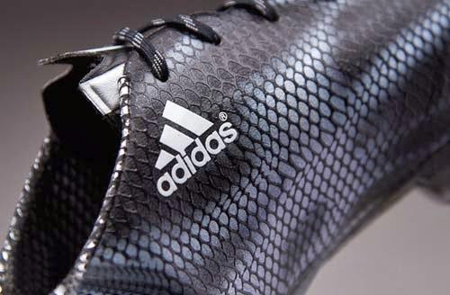 Adidas F50 adizero Core Black and Silver Colors