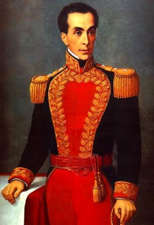 Retrato de Simón Bolivar