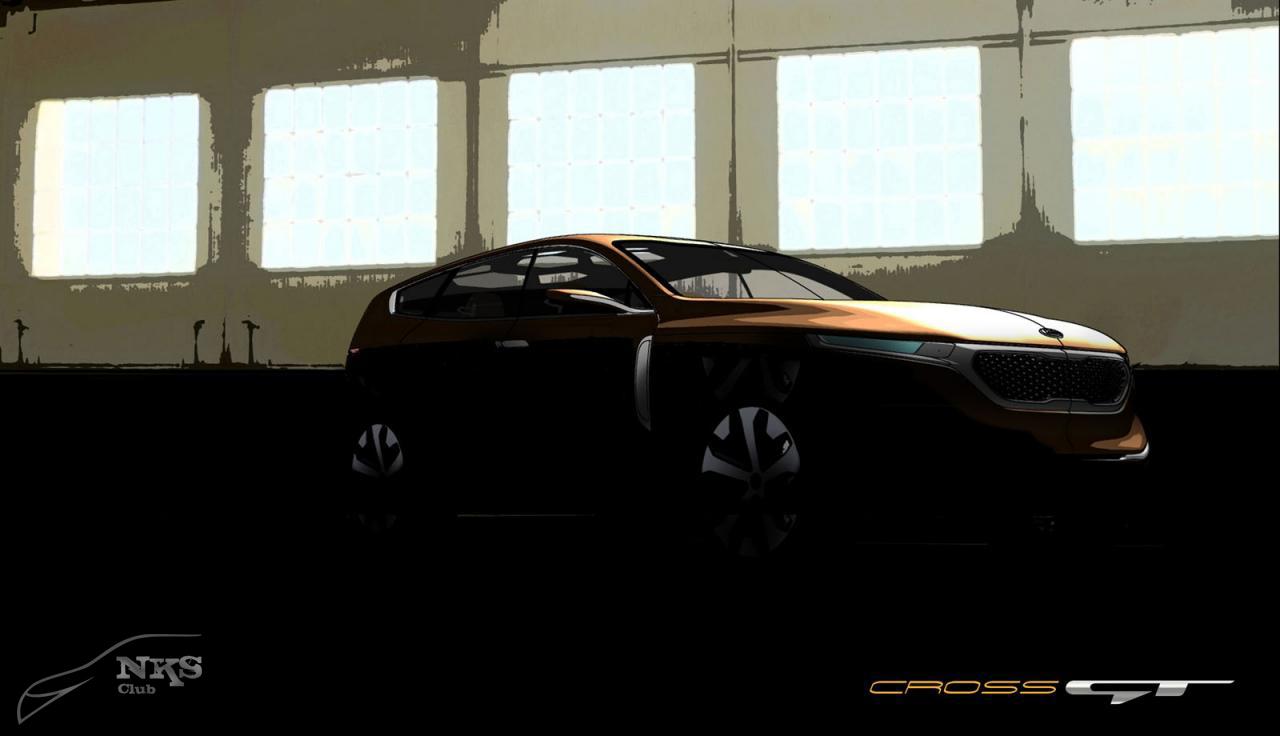 KIA Cross GT : SUV a lo Grande
