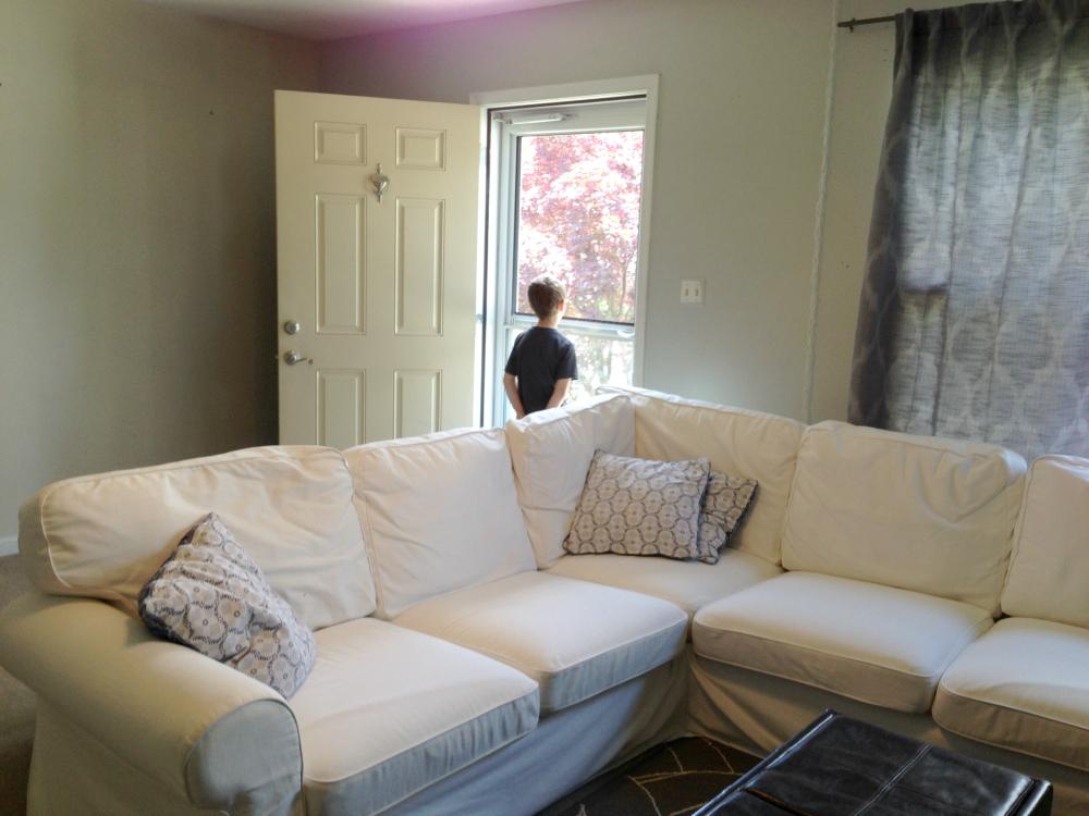 Seven town way minor living room updates for Living room updates