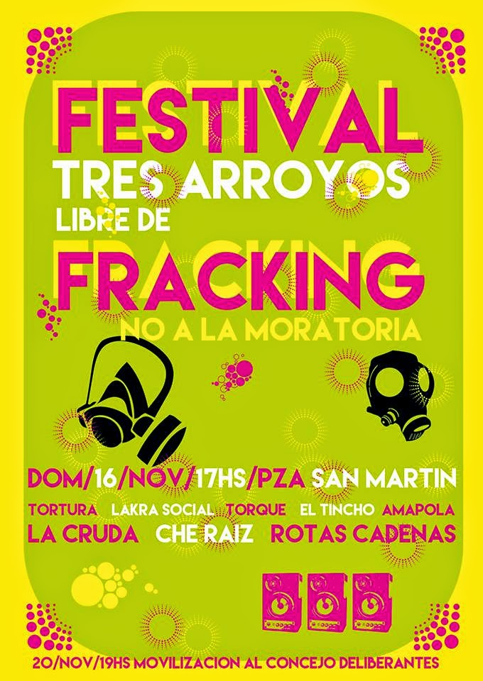 festival tres arroyos libre de fracking