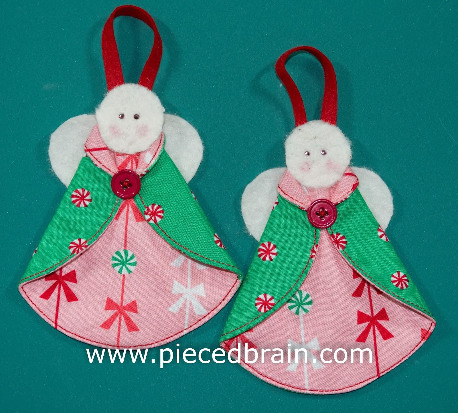 Pieced Brain: Christmas Angels