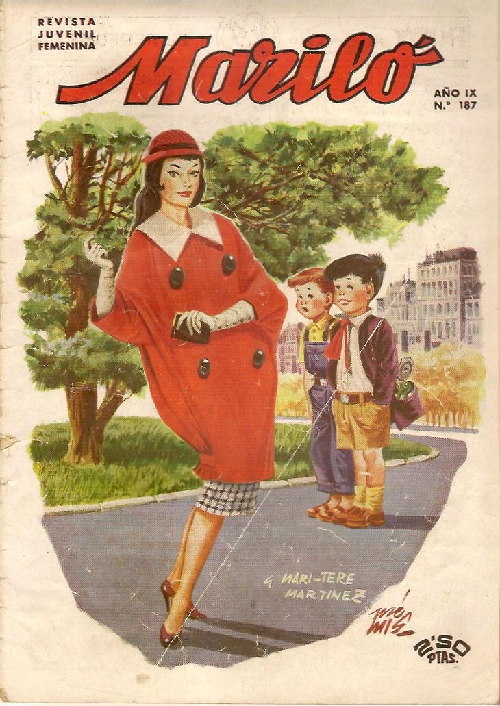 Como vestimos los a os cincuenta y maril - Los anos cincuenta ...