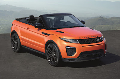 Land Rover Range Rover Evoque Convertible (2016) Front Side
