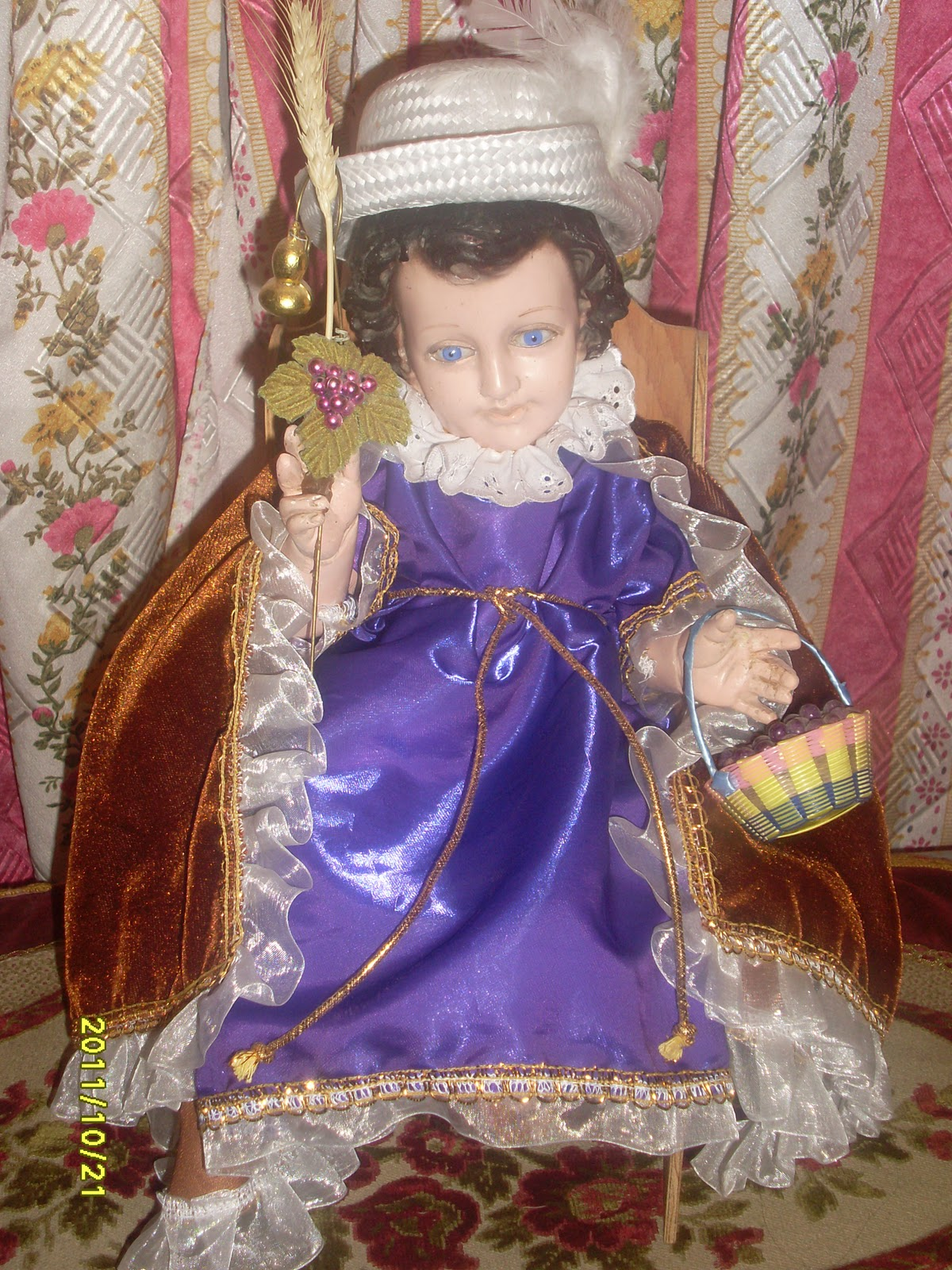 Creaciones originales para Niño Dios Sta. Matildita: enero 2012