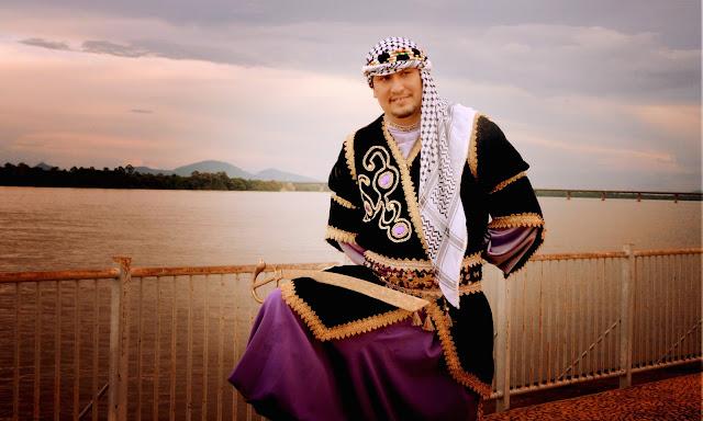 bailarino árabe