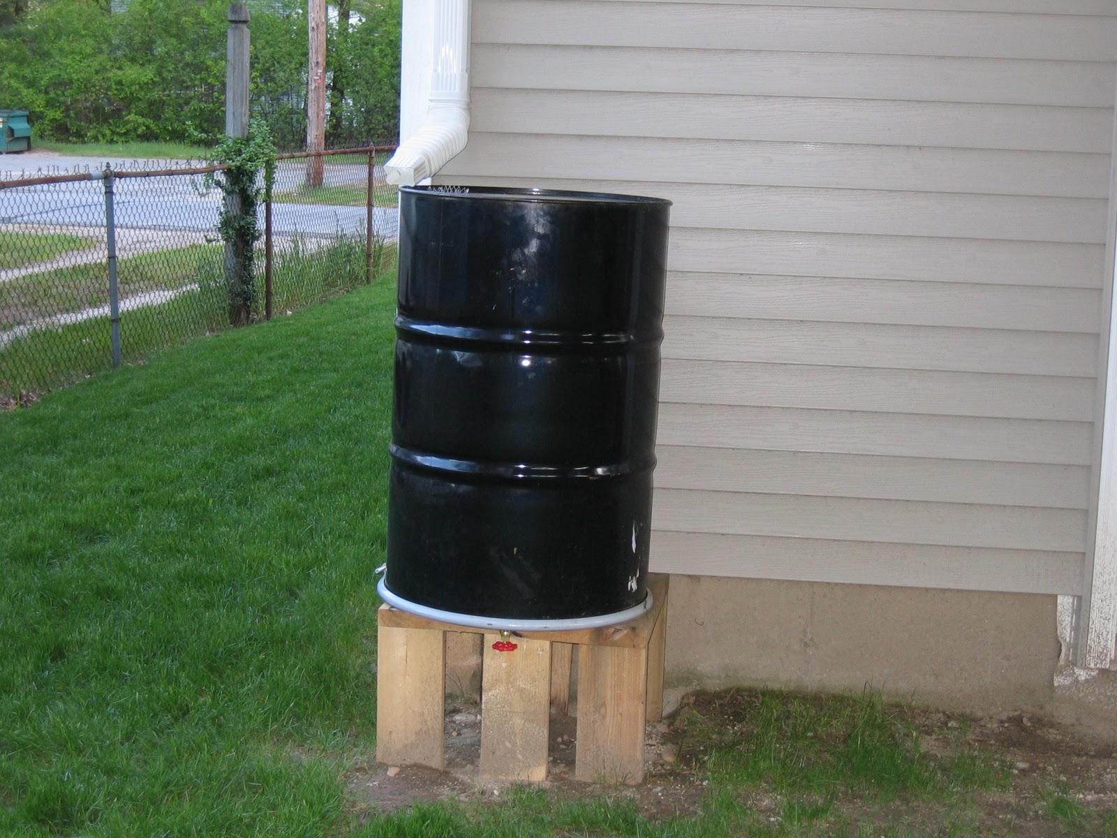 Homemade Rain Barrel 120