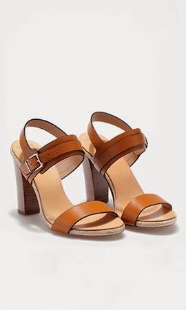 Massimo Dutti mulher primavera verão 2014 sandálias salto couro