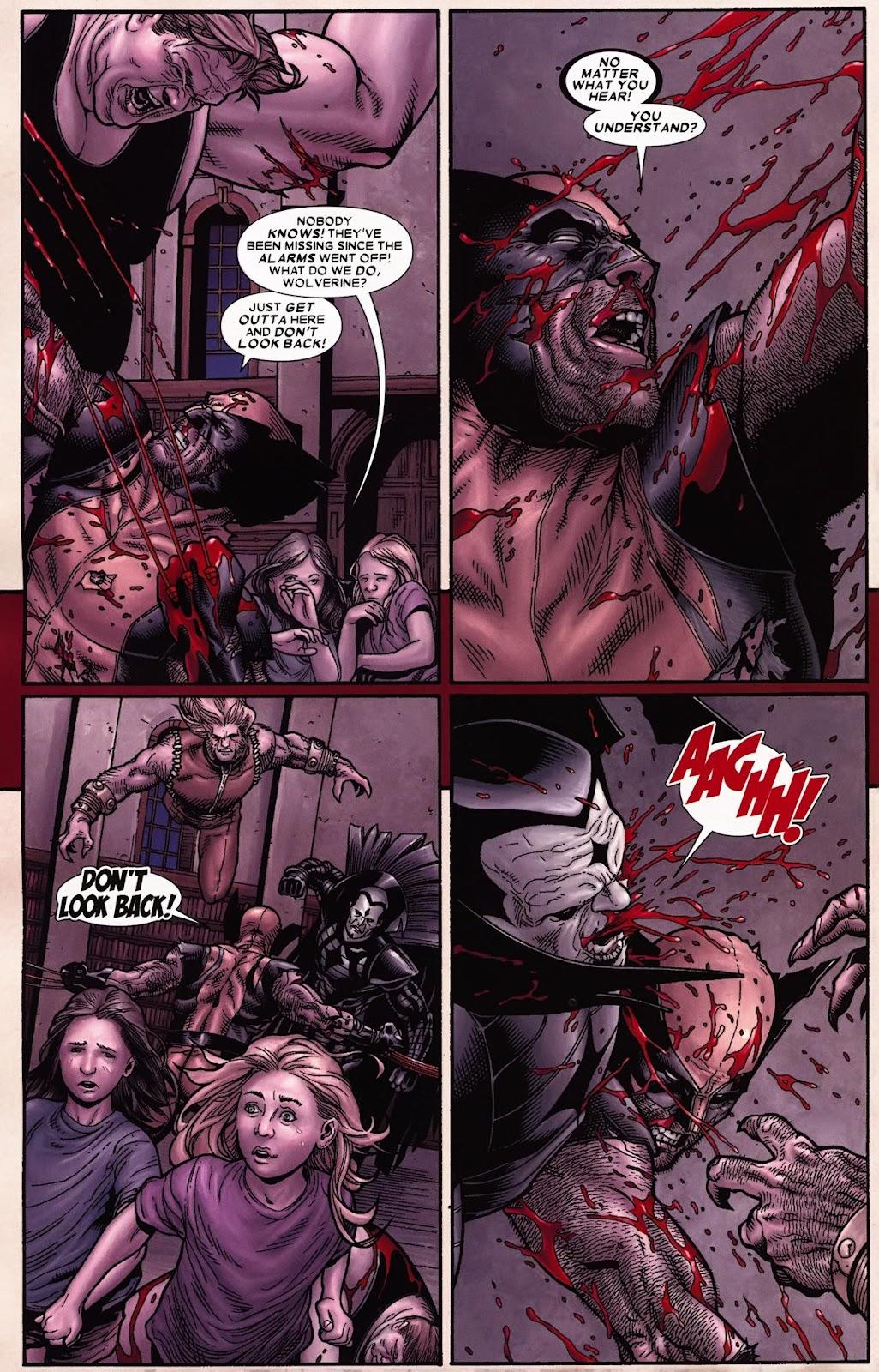 Read online Wolverine (2003) comic -  Issue #70 - 10