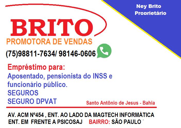 BRITO - PROMOTORA DE VENDAS