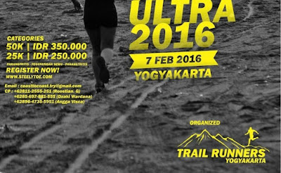Coast to Coast Night Trail Ultra 2016 Yogyakarta, lomba lari pantai parangtritis