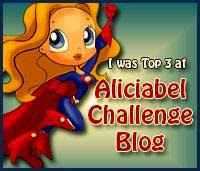 I made top 3 at AliciaBel Challenges