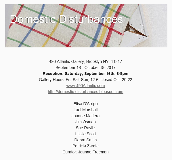 "Recent: ""Domestic Disturbances"" in Brooklyn"