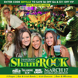 Save On Passes & Enter To Win VIP Tickets To ShamROCK San Diego - Saturday, March 17!