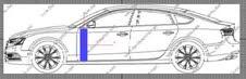 Plano opaco colocado encima de los planos de referencia
